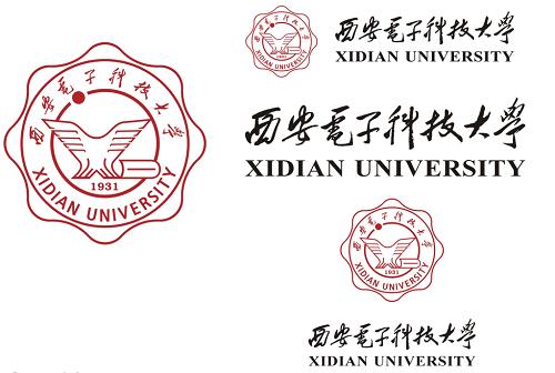 2015西电校徽-西安电子科技大学校徽校标logo